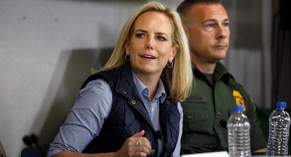 Kirstjen Nielsen, secretaria de Seguridad Nacional de EEUU (archivo)