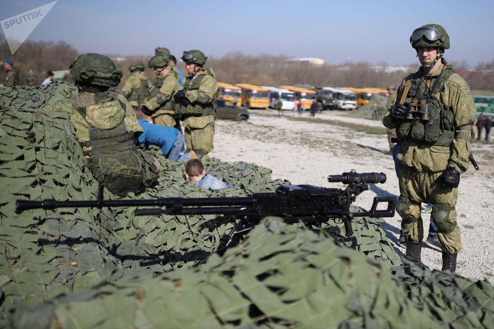 Rusia pone a prueba a su 'escuadra alada'