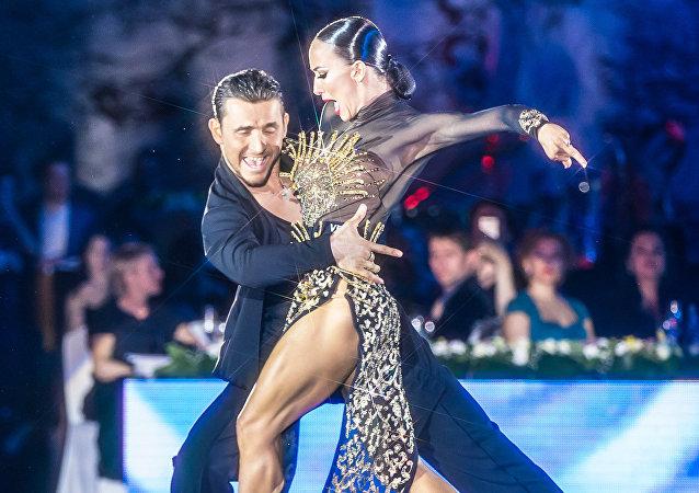Kiril Vorónin y Tatiana Kosenko