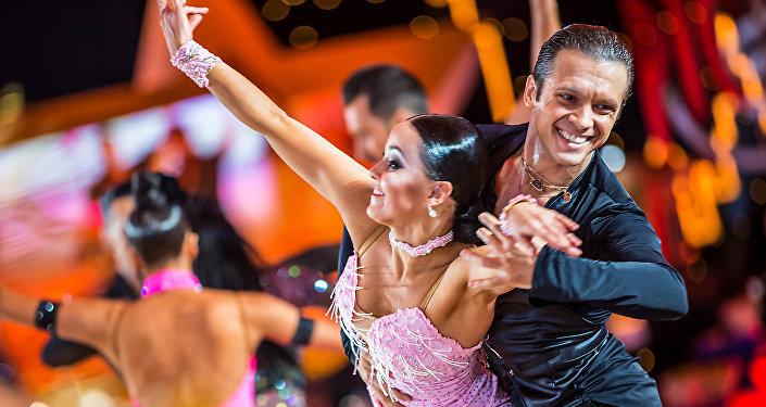 Andréi y Anastasia Kiseliov, bronce en el Campeonato de Baile Deportivo Latino 2018