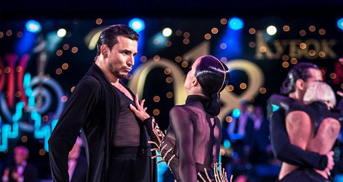 Kiril Vorónin y Tatiana Kosenko, finalistas del concurso de baile deportivo latino WDS 2018