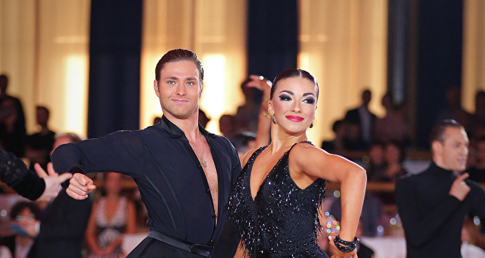 Kiril Belorukov y Polina Teleshova, plata en varios campeonatos de Europa de baile deportivo latino
