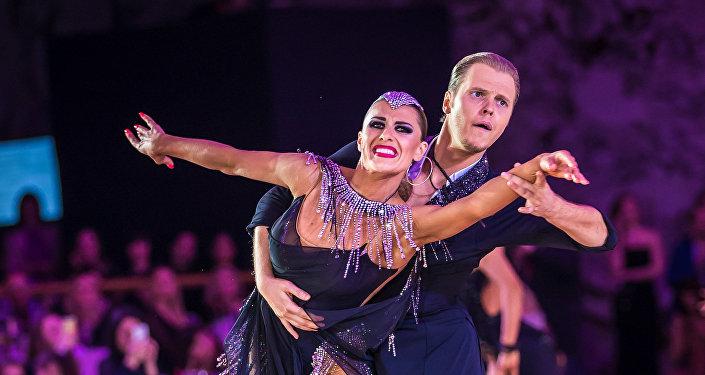 Nikita Brovko y Olga Urúmova, destacados bailarines rusos