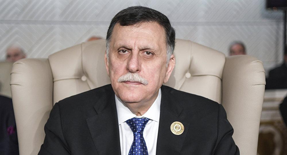 Fayez Sarraj, jefe del Gobierno de Unidad Nacional de Libia