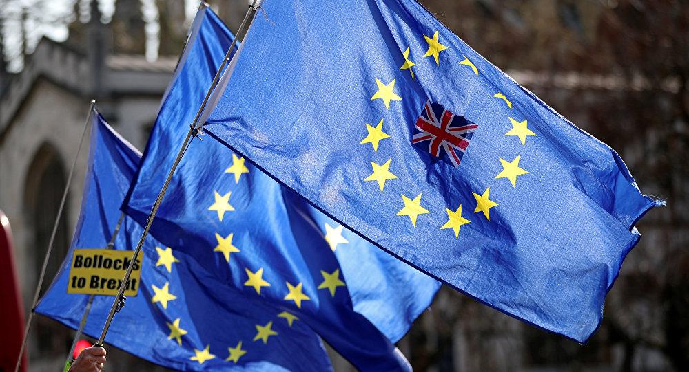 Las banderas anti-Brexit