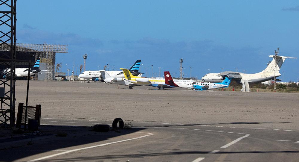Aeropuerto Mitiga en Trípoli