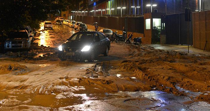 Inundaciones en Río de Janeiro
