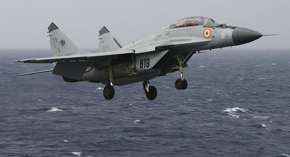 Un MiG-29K indio