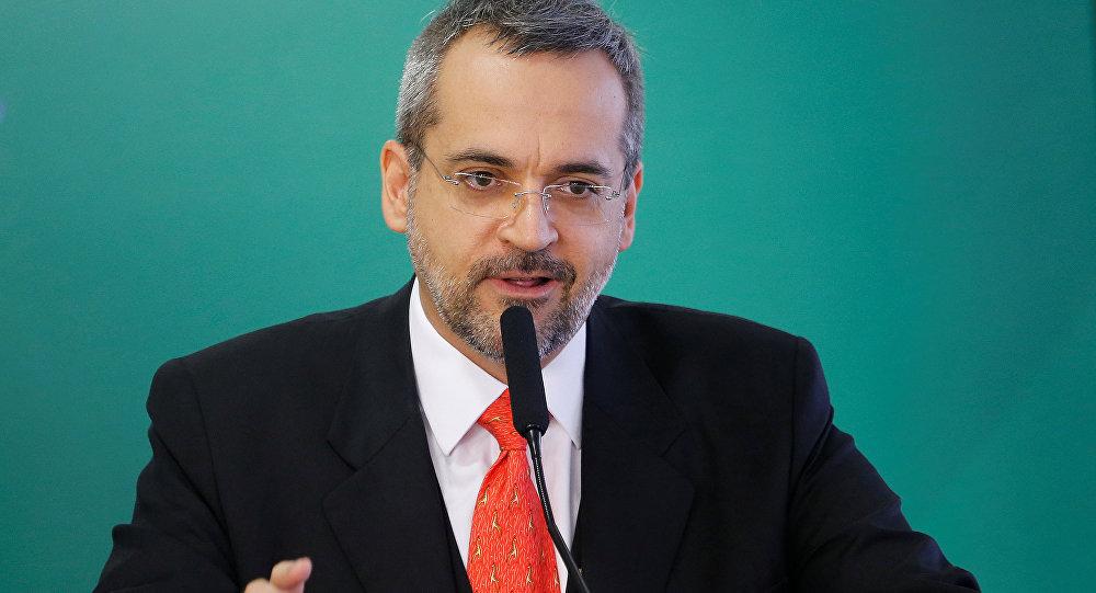 Abraham Weintraub, ministro de Educación de Brasil