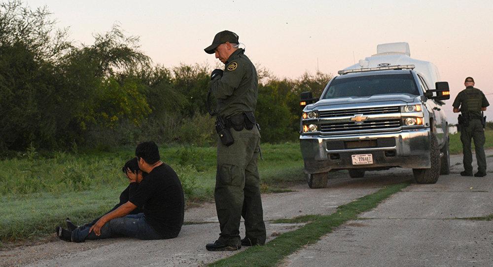 Detención de los migrantes en EEUU