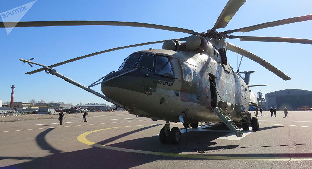 Helicóptero Mi-26-T2V