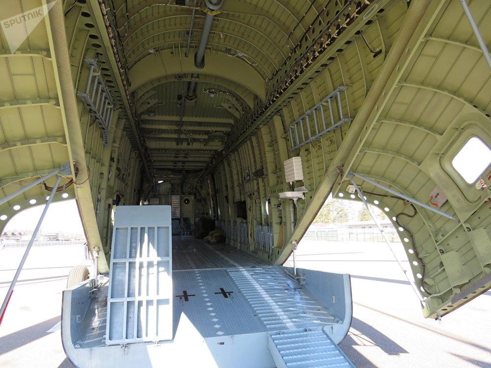 Bodega de carga del Mi-26T2V