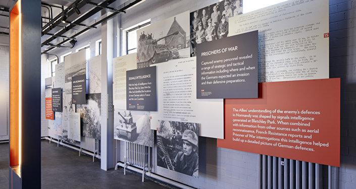 La exposición D-Day en Bletchley Park
