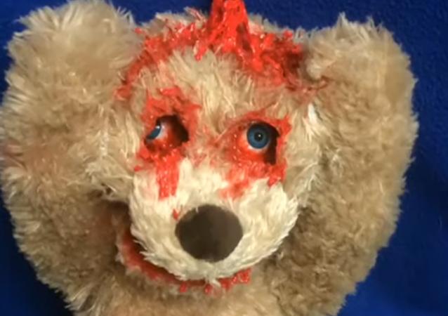 ¡Te encontré! Este horripilante juguete te pondrá la piel de gallina