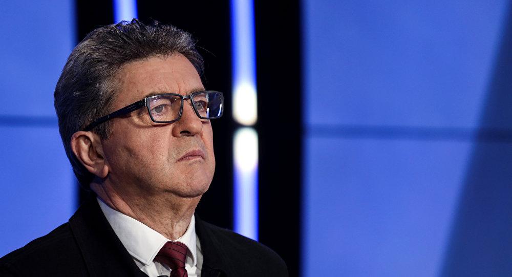 Jean-Luc Mélenchon, el líder del partido La Francia Insumisa