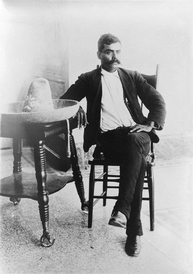 Emiliano Zapata en la Ciudad de México