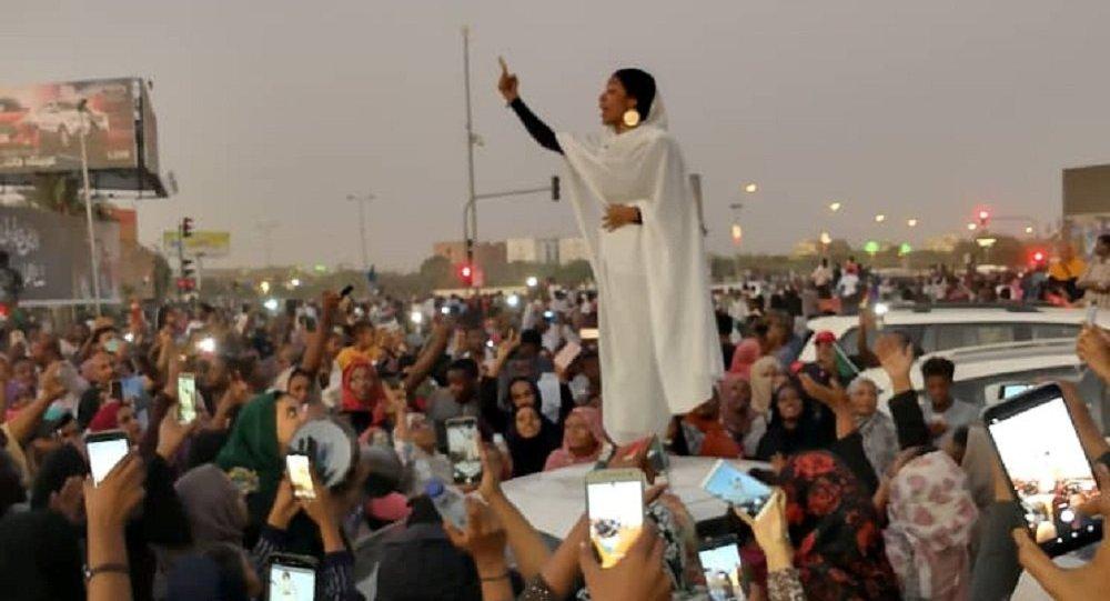 Alaa Salah de Sudán