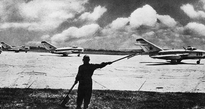 Cazas soviéticos MiG-15