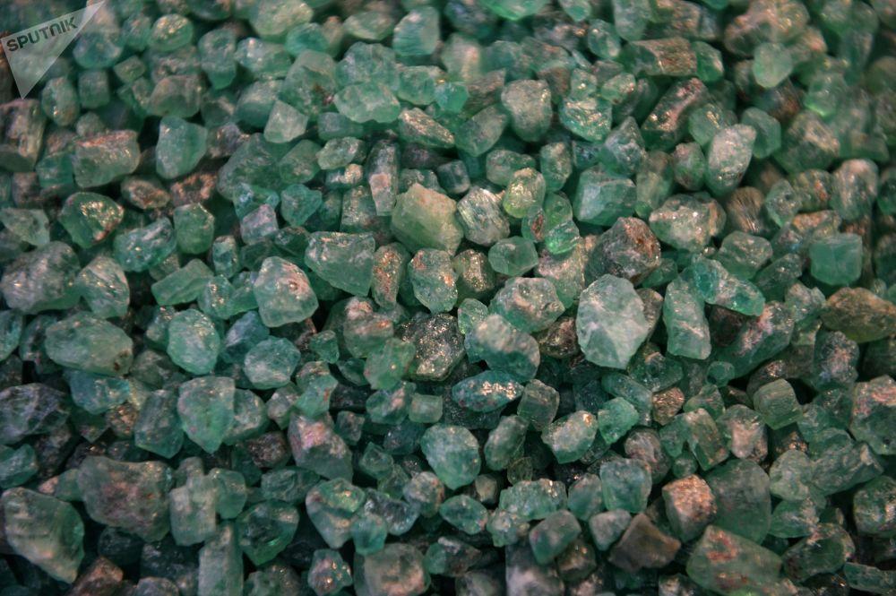 Una excursión por la única mina de esmeralda de Rusia