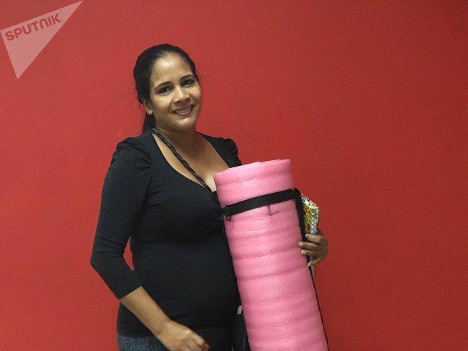Marly tiene 35 años y va a la preparación del parto para vivir el proceso de manera segura y exitosa