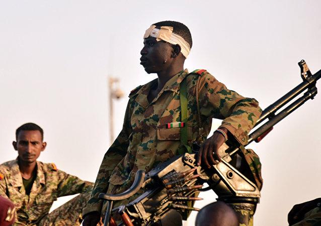 Soldado del Ejército de Sudán