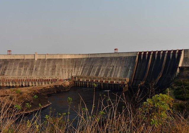 La central hidroeléctrica de Guri, Venezuela