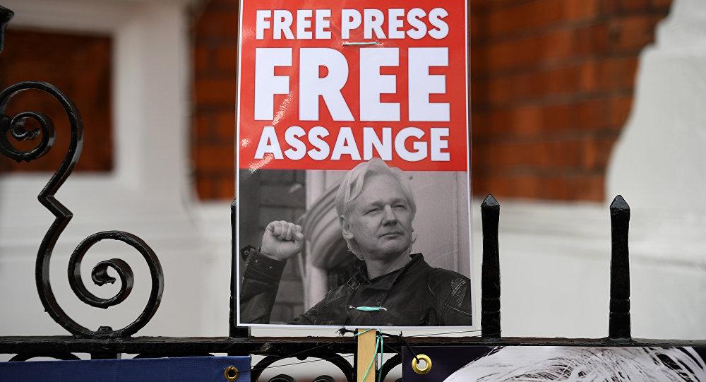 Assange podría ser condenado a muerte en EUA por espionaje