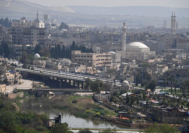 La ciudad siria de Hama