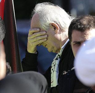John Shipton, padre del fundador de WikiLeaks, Julian Assange