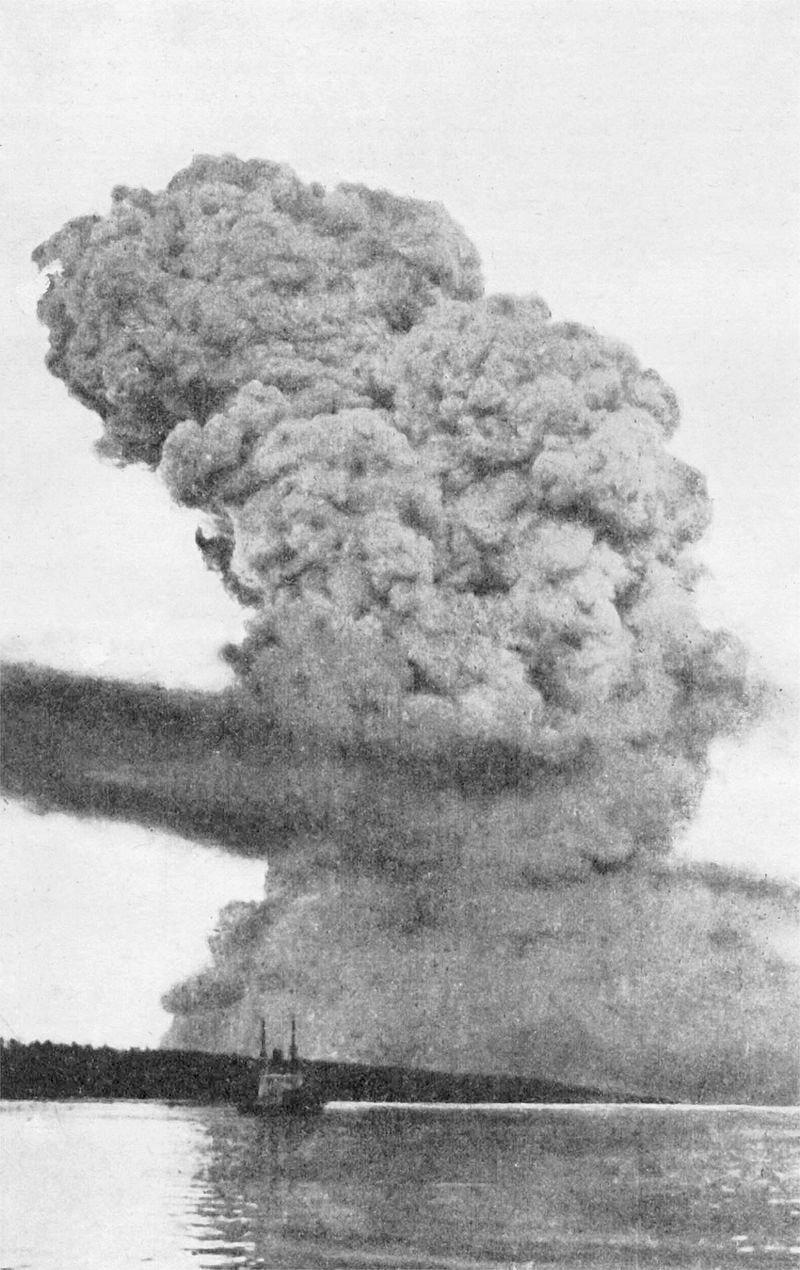 La explosión en Halifax