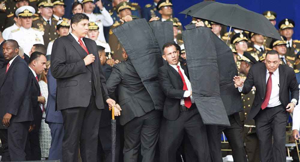 Intento de magnicidio frustrado contra el presidente de Venezuela, Nicolás Maduro (archivo)