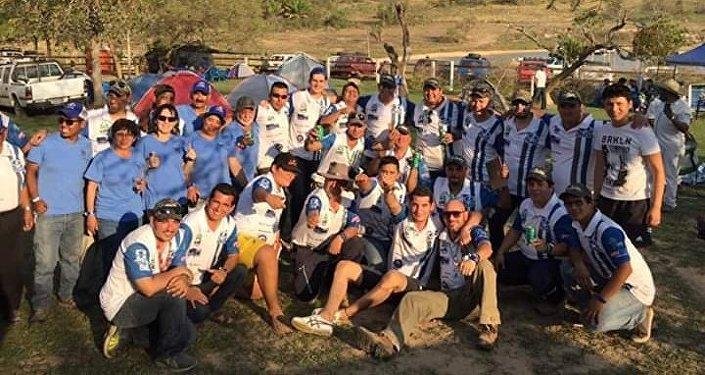 Miembros del club Niva en Santa Cruz (Bolivia)