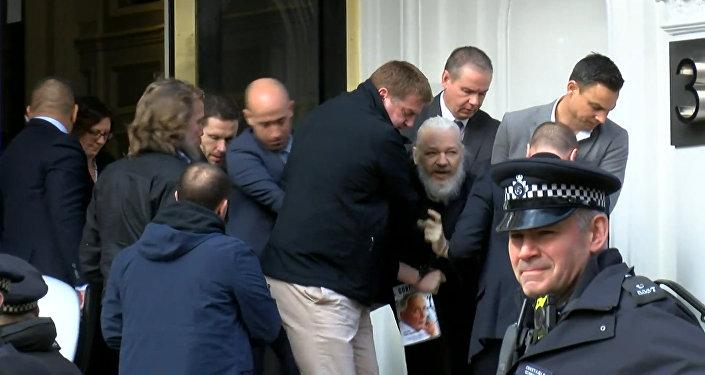 Aresto de Julian Assange