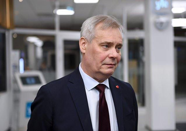 Antti Rinne, líder del Partido Socialdemócrata Finés