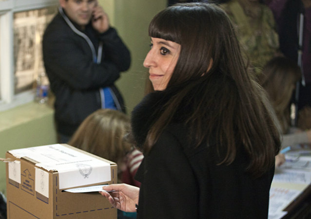 Florencia Kirchner, hija de la expresidenta argentina, Cristina Kirchner