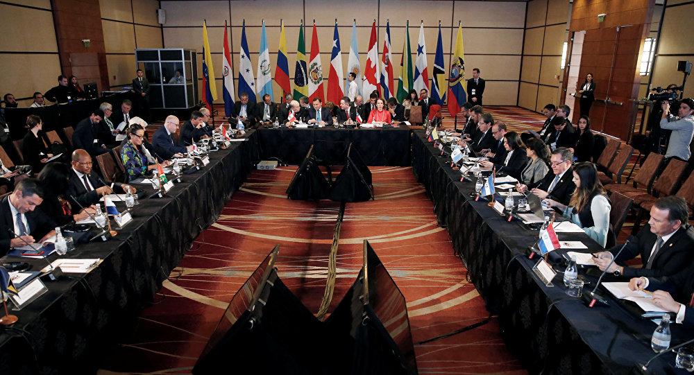 XII reunión ministerial del Grupo de Lima