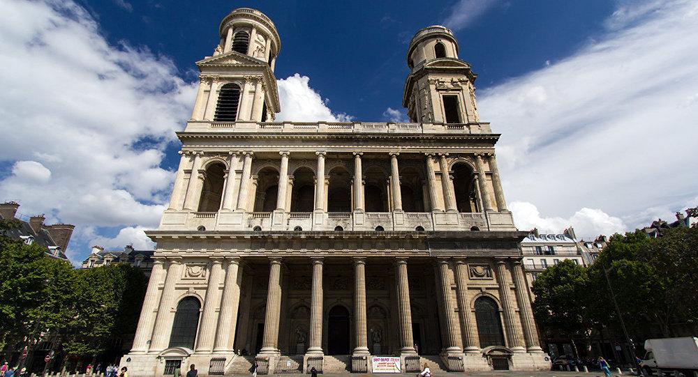 La iglesia de San Sulpicio en París