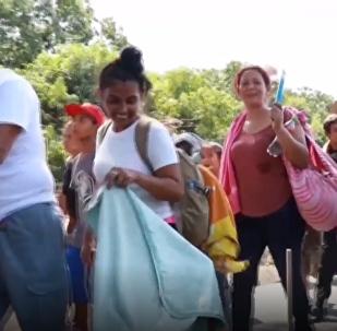 Una nueva caravana de migrantes ha salido desde Tapachula