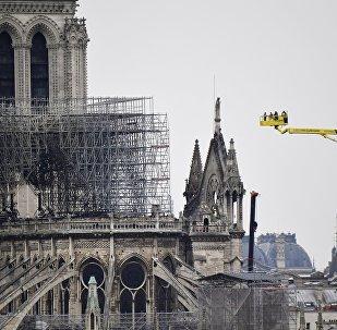 La catedral parisina de Notre Dame