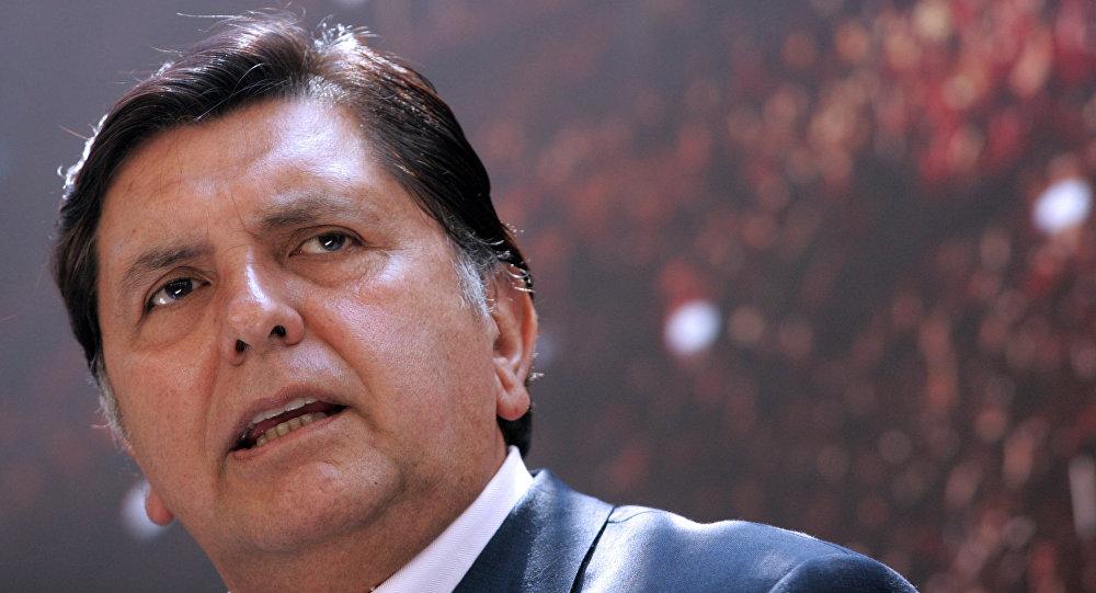 Expresidente de Perú Alan García