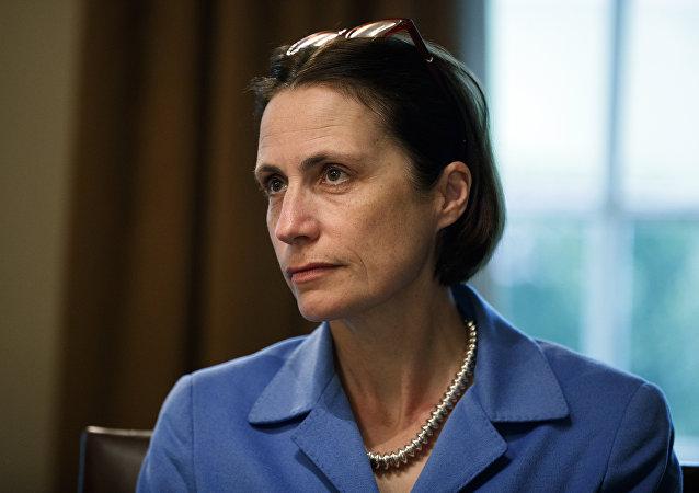 Fiona Hill, asesora del presidente Donald Trump