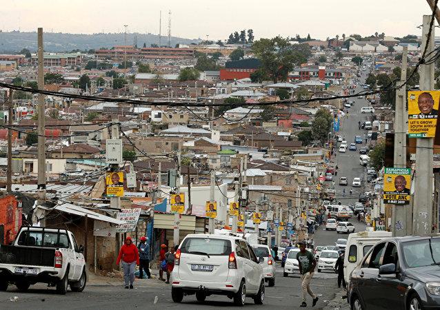 Las calles de Alexandra, en las afueras de Johannesburgo (Sudáfrica)