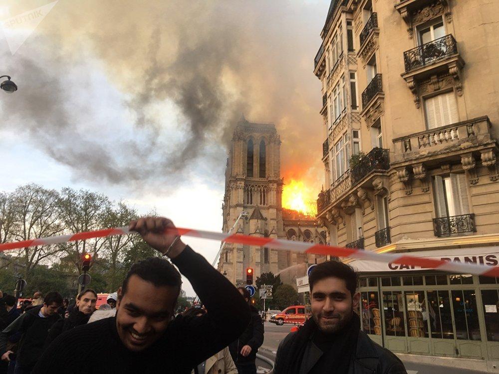 La foto de la catedral de Notre Dame que se hizo viral
