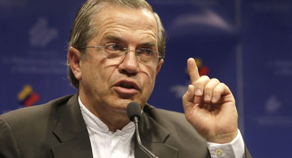 Ricardo Patiño, exministro de Relaciones Exteriores de Ecuador (archivo)