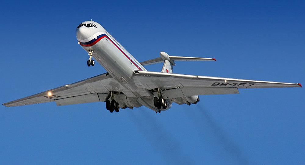 Avión ruso Il-62M (archivo)