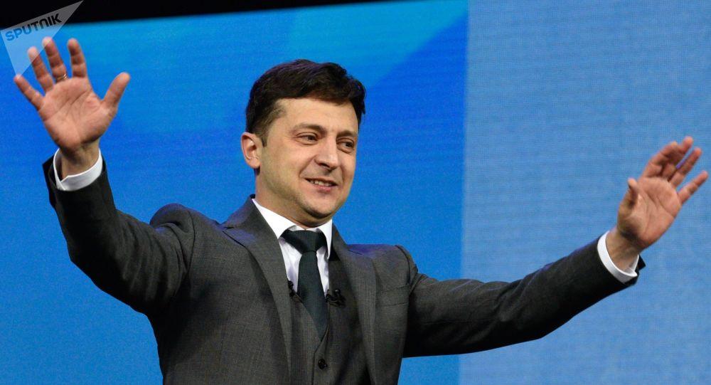 Volodímir Zelenski, presidente ucraniano