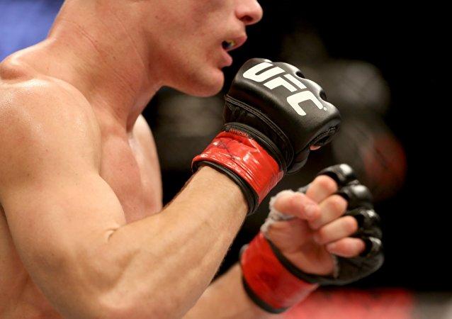 Un luchador de MMA (archivo)