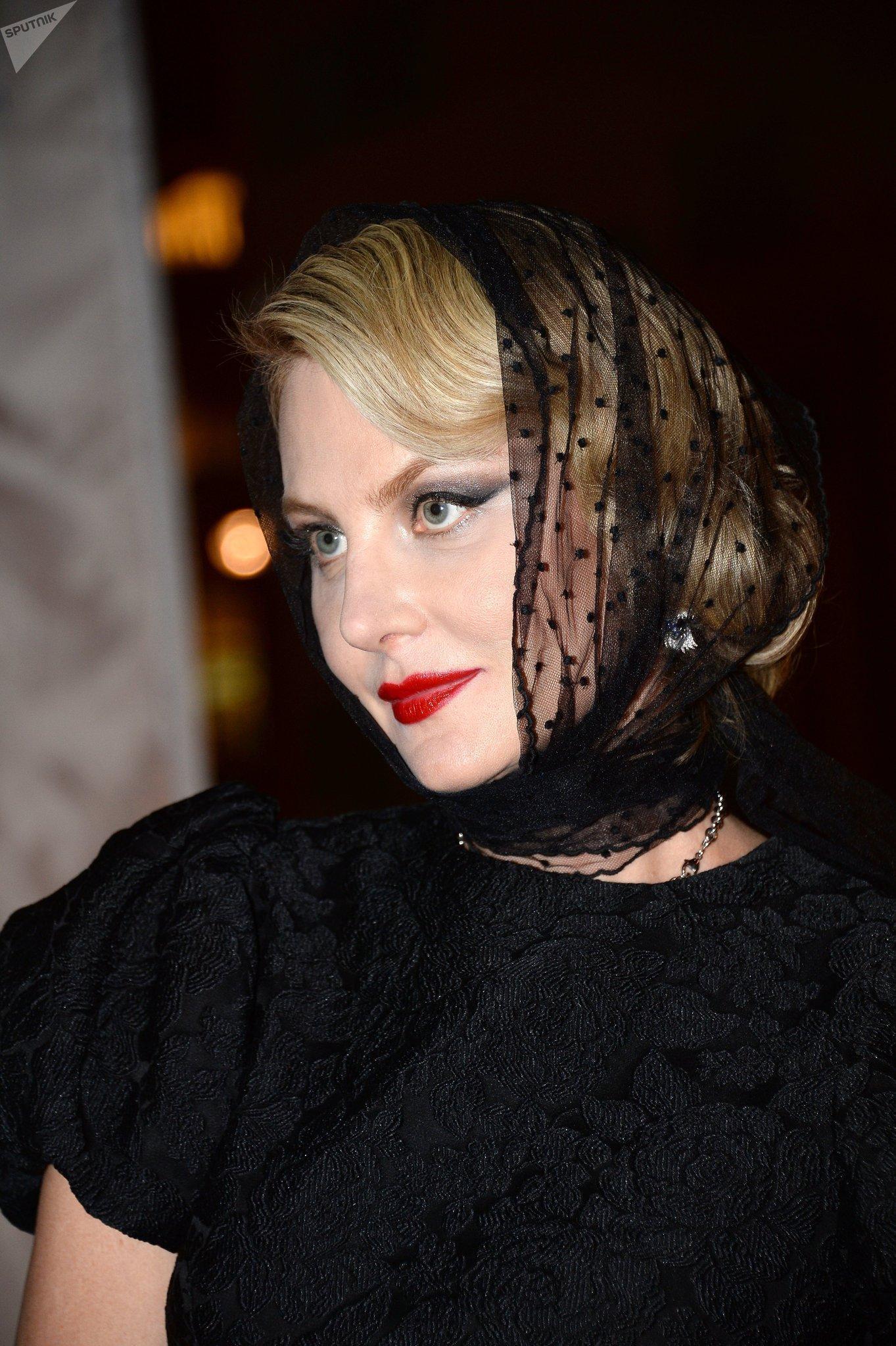 Renata Litvínova, actriz y directora rusa