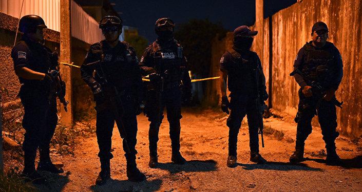 Policía de México en Minatitlán