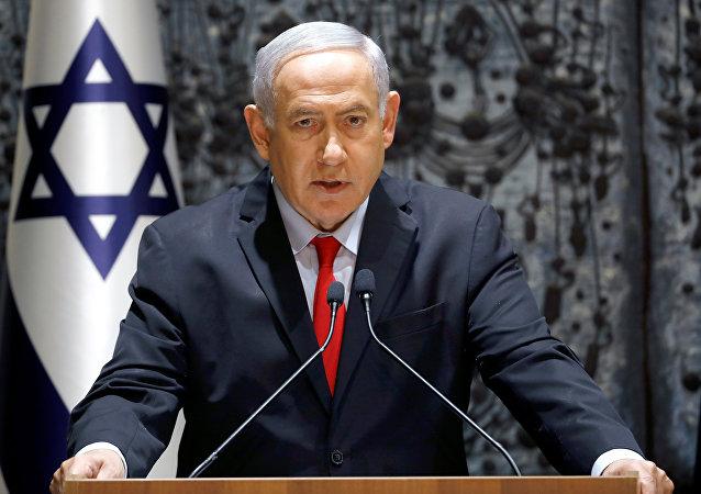 Benjamín Netanyahu, el primer ministro de Israel (archivo)